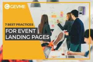 7 best practices for event landing pages
