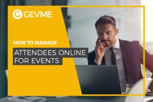 Manage attendees online for events