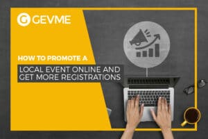Drive your local event online and get more registrations