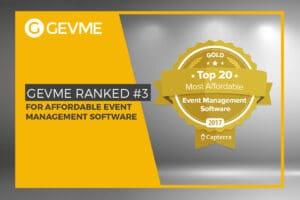gevme rank 3 affordable event management software capterra