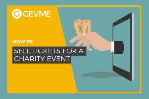 How to sell tickets for charity events