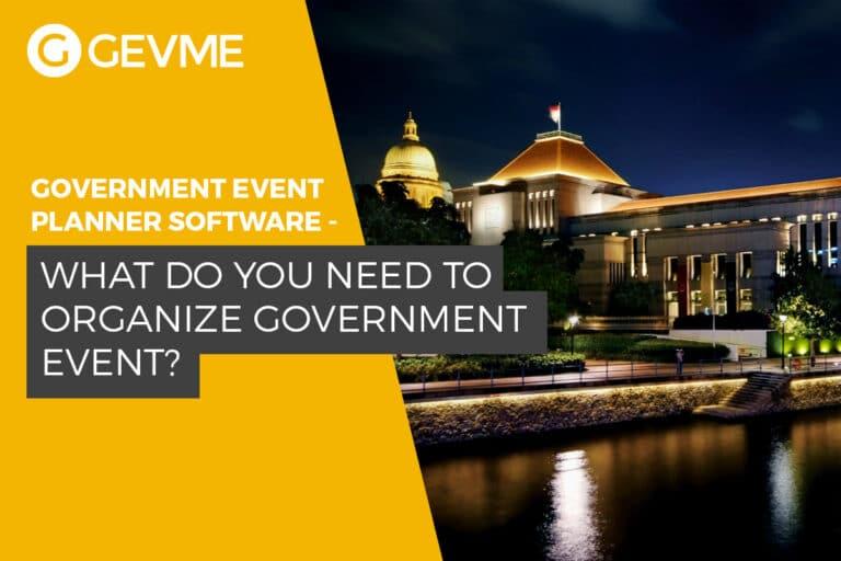 How to Organize a Government Event: Tips and No Tricks