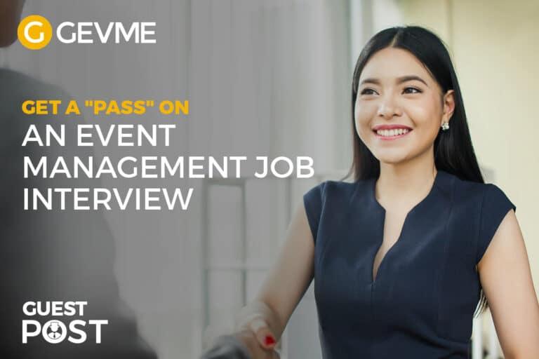 Event Management Job Interview