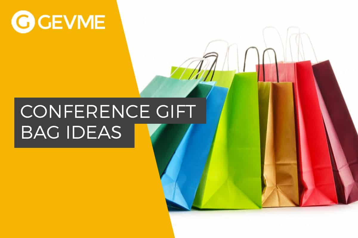 Practical ideas on what the conference gift bag should consist of