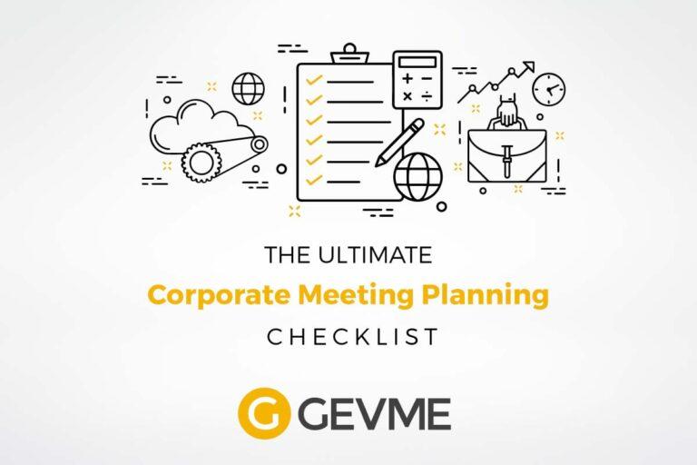 Corporate Event Planning Checklist