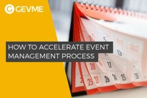 How to Accelerate Event Management for Large Events