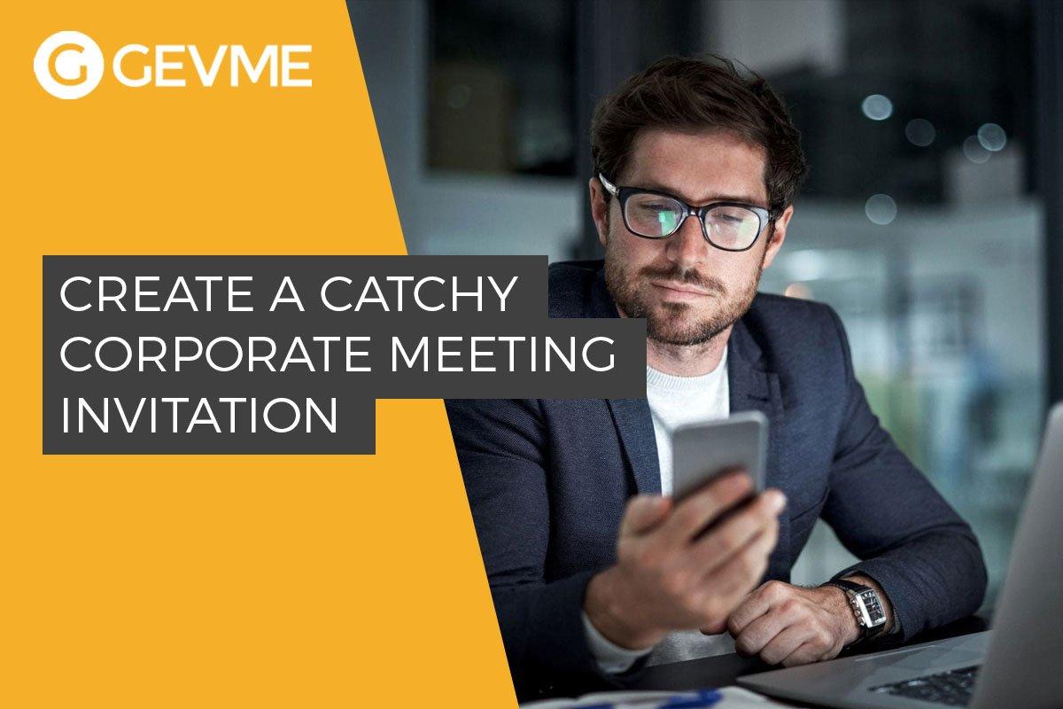 Corporate Event Invitation Emails