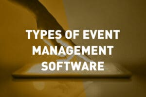 Types of Event Planning Software