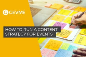 Content Strategy for Events