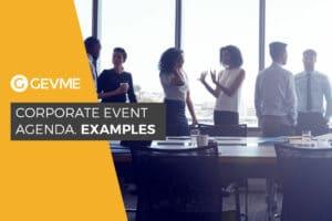 Corporate Event Agenda Samples