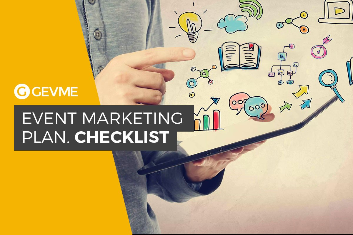 Event Marketing Plan Checklist Gevme