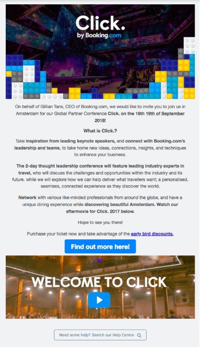 Engagement focused email