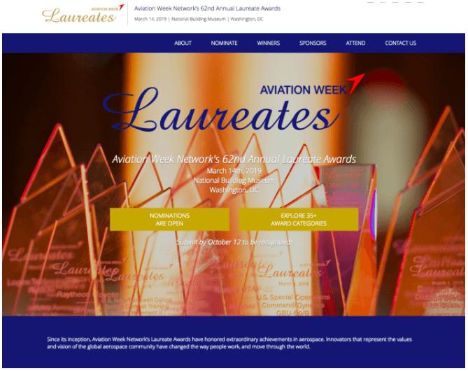Laureates Aviation Week