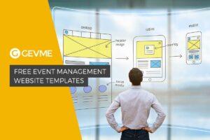 5 Free Event Management Website Templates