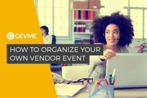 A vendor event