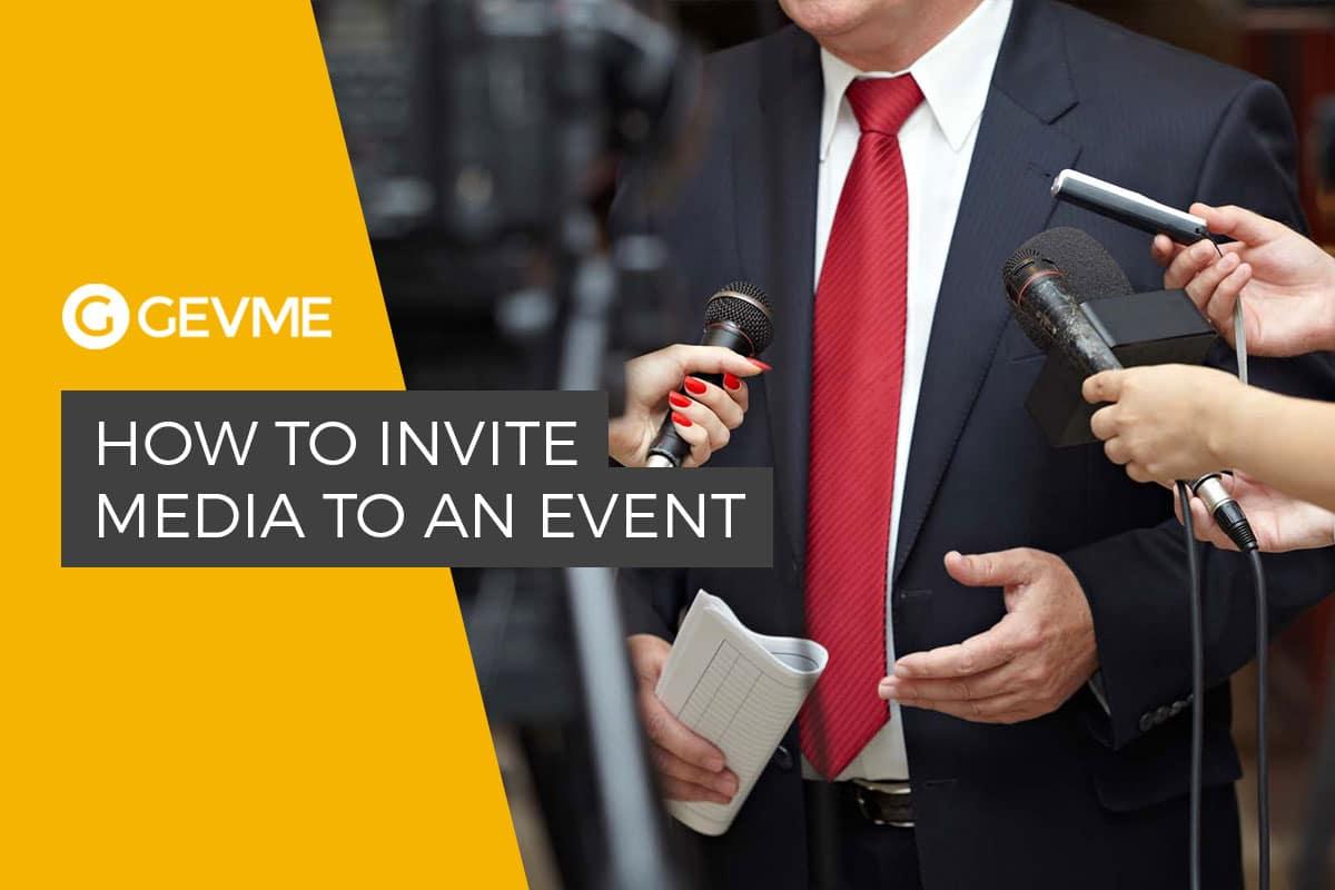 media invite