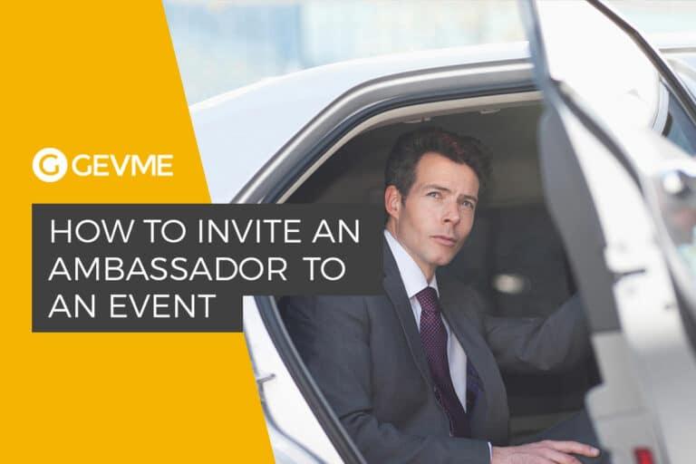 invite event ambassador