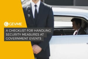 Checklist on how to handling security measures at government events