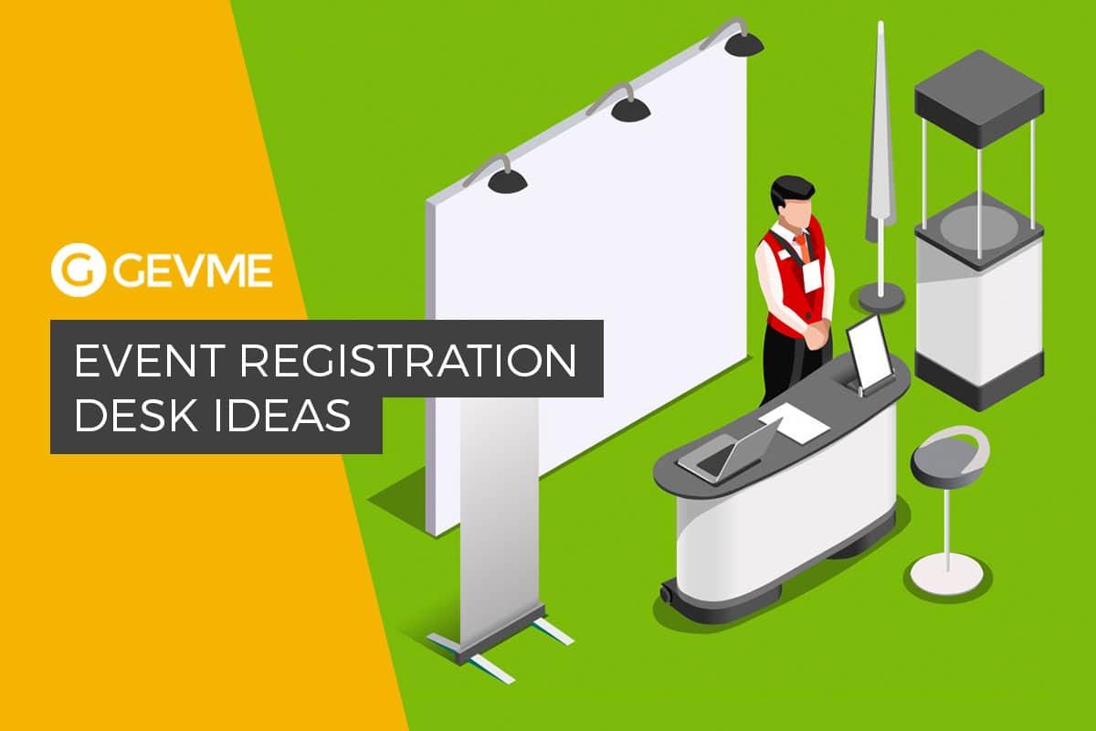 Event registration ideas