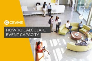 how to calculate event capacity
