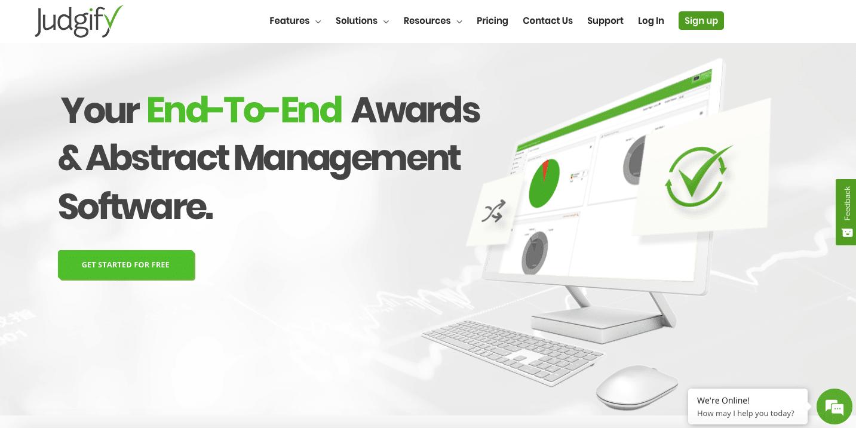 Judgify abstract management platform