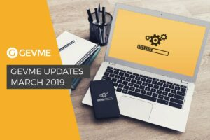 the latest GEVME product updates