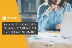 Things to Consider Before Starting an Event Partnership