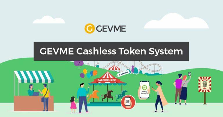 How the GEVME cashless token system works