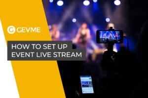 Event Live Stream Setup