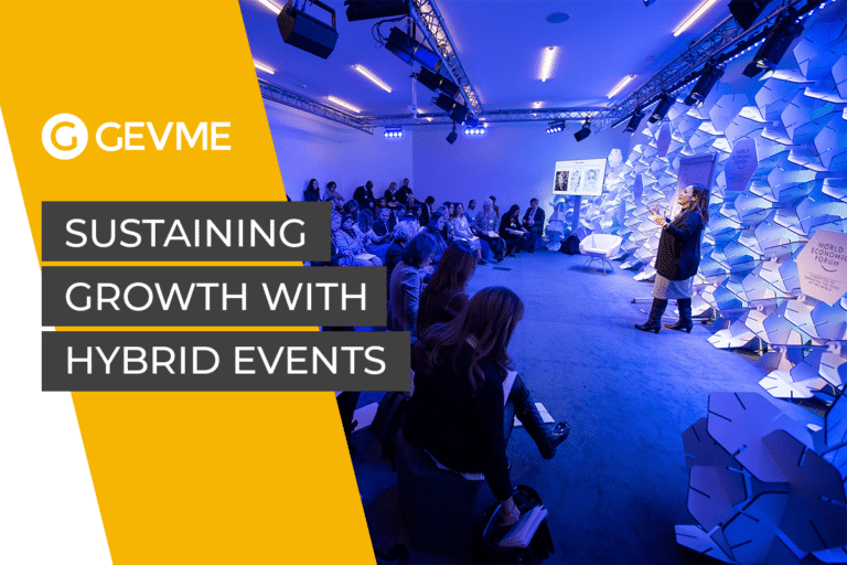 Sustaining growth with hybrid events