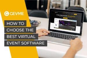 Virtual event software GEVME