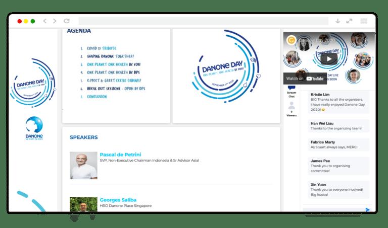 Danone Day 2020 GEVME Virtual
