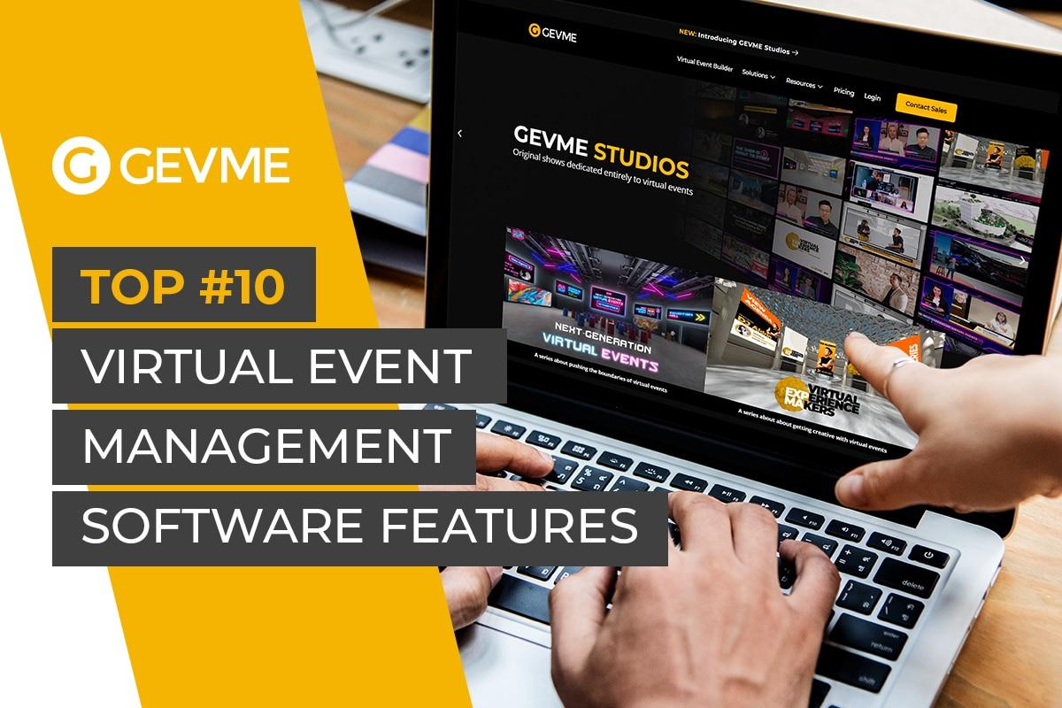 virtual event management software features